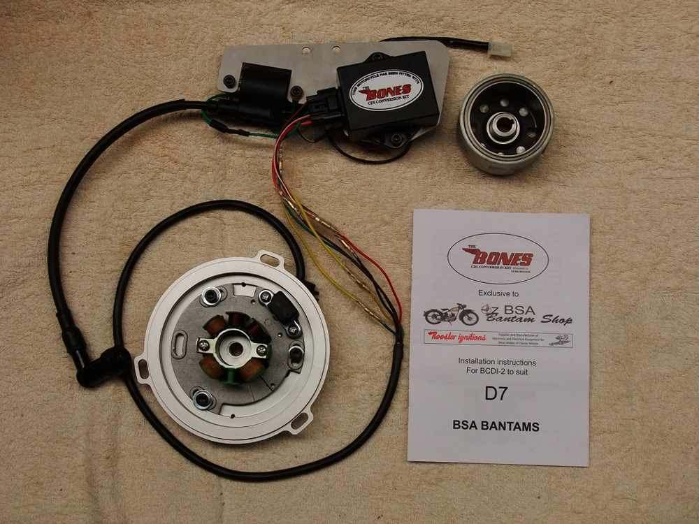 Bantam Bones CDI Conversion Kit D7